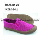 Самые новые твердые ботинки отдыха обуви холстины впрыски женщин (FFXJY-25)