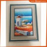 Belle peinture d'art de toile avec encadré pour la décoration à la maison