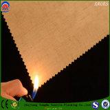 Tela de linho da cortina do escurecimento do franco da tela da tela do poliéster de matéria têxtil