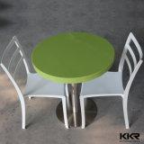 Moderne Gaststätte-Möbel-künstliche Steinschnellimbiss-Tische mit Stühlen (T1706091)