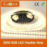 Luz de tira interna ou ao ar livre do diodo emissor de luz de DC12V SMD5050