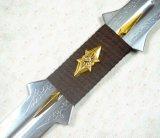 1: 1 replica della spada scura di Cosplay della spada/distorsione di velocità della lamierina dell'elfo di Adamantium