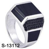 새로운 디자인 925 은 보석 남자 반지 공장 도매