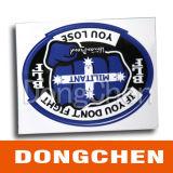 Sticker van de Auto van de douane de Zelfklevende Weerspiegelende Afgedrukte UV Bestand