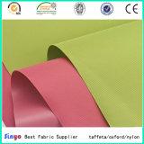Мягкая тонкая ткань полиэфира PVC Coated для облегченных мешков