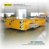 Carro de manipulação elétrico da plataforma do reboque para a manipulação material