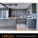Armadio da cucina di disegno 2 PAC della mobilia della casa dell'appartamento di alta qualità (AP070)