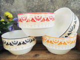New Bone China Decal Ceramic Bowls