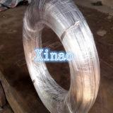 Arame de aço galvanizado brilhante fio de ligação 0.7mm