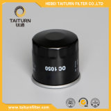 Filtro de petróleo negro del color de las piezas de automóvil Oc 1050