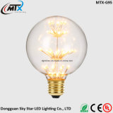 2W Fancy European Design Decorativo colorido LED Edison Light Bulb
