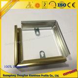 Het Frame van het Aluminium van de Uitdrijving van het aluminium voor Foto's met het Machinaal bewerken