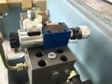 Wc67y-125X3200油圧炭素鋼の版の折る機械装置