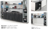 Bookcase офиса шкафа архива самомоднейшей конструкции регулируемый