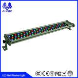 Luz ao ar livre da lavagem da parede do diodo emissor de luz de DMX 512 RGB 36W