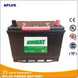 baterias de carro de 70d26L 12V 70ah Mf no padrão de JIS