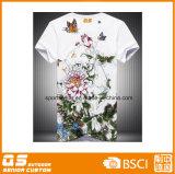 Camiseta de secado rápido al aire libre impresa de los hombres