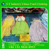 Vestido de seda usado roupa usado das senhoras da roupa