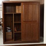 寝室のワードローブの戸棚の木の戸棚のドレッサー(GSP9-007)