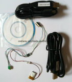 Mini lecteur par la carte de crédit magnétique Msr009