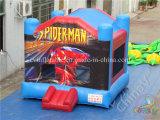 Spider-Manthema-aufblasbares Prahler-Schloss für Verkauf