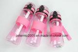 bottiglia di acqua di plastica poco costosa di vendita della fabbrica 600ml varia