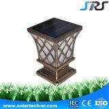 Lumière sans fil actionnée solaire de mur d'éclairage LED solaire neuf du jardin 2016 d'usine de SRS