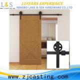 Puerta de granero con hardware de la puerta deslizante