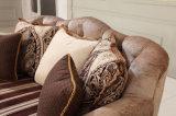 Sofá americano da sala de visitas da antiguidade clássica do sofá da tela
