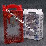 Rectángulo plástico claro móvil de la fuente profesional de la fábrica que empaqueta al por mayor
