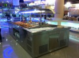 De nieuwe Staaf van de Salade van het Roestvrij staal van het Type Marmeren voor Buffet