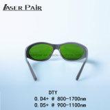 Estilo 980nm do esporte, 1064nm, 1320nm, óculos de proteção médicos da proteção de olho do laser dos óculos de proteção de segurança do laser 1470nm para os diodos, ND: YAG