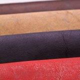 靴袋のソファーの家具のカー・シートのノートのパッケージのための人工的な骨董品PU PVC革