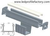 Profil imperméable à l'eau de l'extrusion DEL de Channal de ligne électrique de P/N4111 15mm