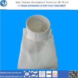 Мешок пылевого фильтра для корпуса фильтра мешка используемого для цедильного мешка собрания пыли PPS и смеси PTFE