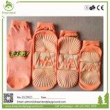 Подгонянные оптовой продажей носки лодыжки носка йоги Sox выскальзования скачки крытые Non для Trampoline