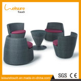 Botella creativa en forma de jardín al aire libre Patio Muebles de ratán silla de mimbre del sofá de la tabla