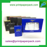 Contenitore di imballaggio piegante impaccante su ordinazione dell'accenditore della casella del profumo dei monili del regalo di carta cosmetico di lusso superiore di Skincare con l'inserto del PVC/animale domestico/cartone