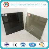 Vidrio de flotador teñido gris gris oscuro de Suppply 5.5m m /Euro de la fábrica