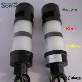 indicatore luminoso giallo rosso 70mm del cicalino di 50mm 60mm, indicatore luminoso di indicatore