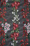 Tessuto del merletto della maglia con ricamo 3D
