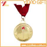 円形浮彫りおよび硬貨の記念品のギフト(YB-HR-59)のカスタムロゴの高品質の金属
