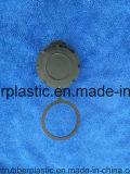 Qualitäts-Einspritzung-Plastikschutzkappe mit Ring kundenspezifischem Soem-Hersteller