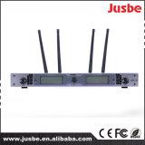 Fk-800 Precio de Fábrica Espectáculo en Vivo Use el Micrófono UHF de Doble Canal Micrófono Inalámbrico Profesional