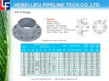 Flange de PVC-U para a válvula plástica