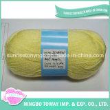 Atacado Lã Crochet Yarn Mão Knitting Algodão Acrílico Fios