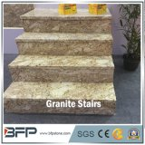 Impronta gialla di qualità superiore del granito per l'ingresso del Corridoio & il disegno interno