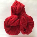 El hilado de seda de mora que tejía para la media, alineada, bufandas hizo girar el hilado