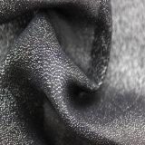 Tessuto chiaro urgente d'argento 100% di modo di stile del poliestere nuovo per l'indumento delle donne