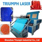 Автоматический подавая автомат для резки лазера CNC для цены гравировального станка лазера ткани кожи автомата для резки тканья сбывания